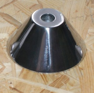 Steib Cone mount S 500  front, 65 mm, 14 mm hole