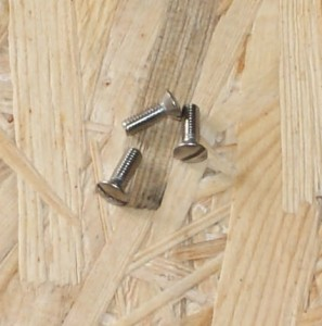Screw, M 4 x 16, stainless, LS 200 / S 350, for luggage hook, inside